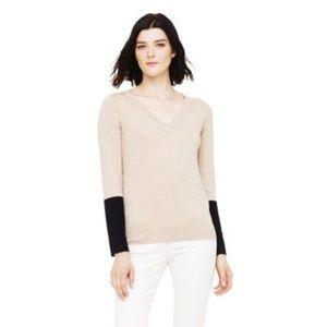Club Monaco Agnes Block Sweater - size xs